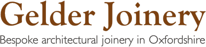 Gelder Joinery - Bespoke architectural joinery in Oxfordshire